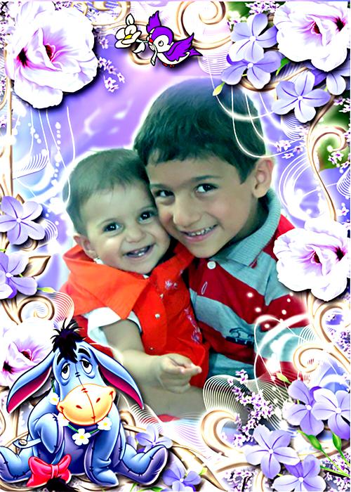 فاطمه و امیرمحمد